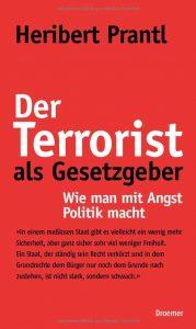 Cover Der Terrorist als Gesetzgeber