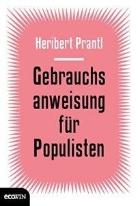 Cover Gebrauchsanweisung für Populisten