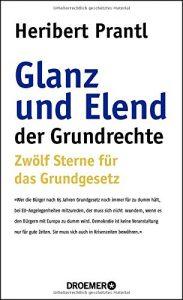 Cover Glanz und Elend der Grundrechte