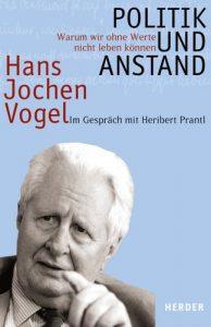 Cover - Politik und Anstand