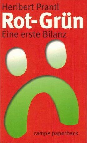 Cover Rot-Grün - Eine erste Bilanz