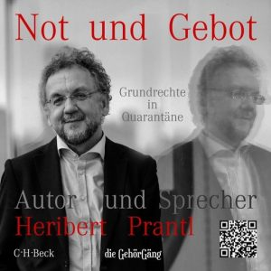 Not und Gebot Hörbuch Cover